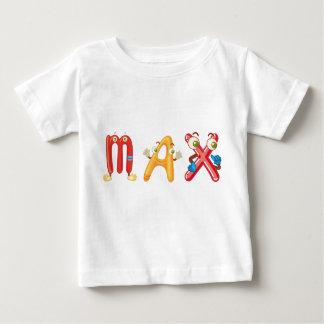Camiseta máxima del bebé