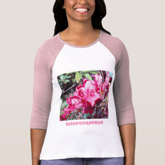 Camiseta Máximo del rododendro de Virginia Occidental