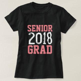 Camiseta mayor 2018 del jersey del graduado