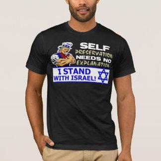 Camiseta ¡Me coloco con Israel!