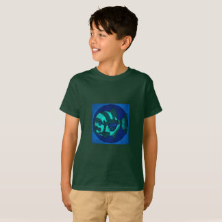 Camiseta mecánica de los pescados