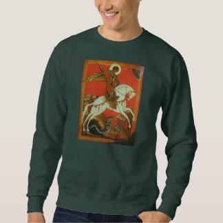 Camiseta medieval de San Jorge y del dragón