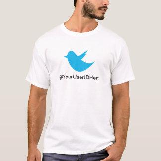 Camiseta Medios azules del Social del pájaro