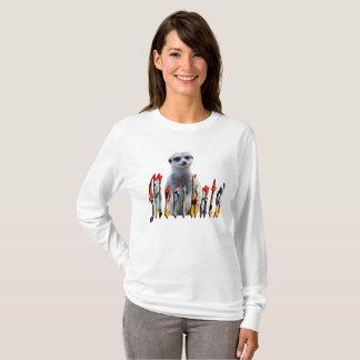 Camiseta Meerkat con el logotipo de Meerkats,