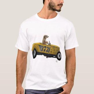Camiseta Meerkat en el coche de carreras 2