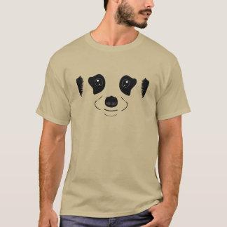 Camiseta Meerkat hace frente a la silueta