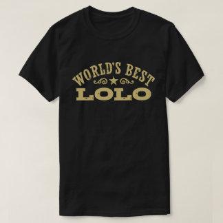 Camiseta Mejor Lolo del mundo