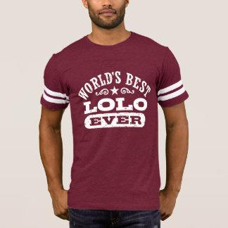 Camiseta Mejor Lolo del mundo nunca