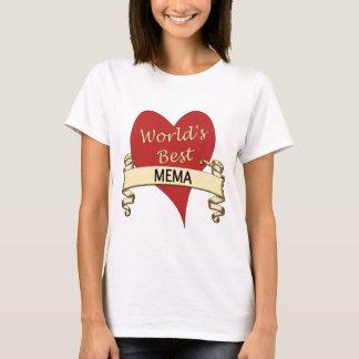 Camiseta Mejor Mema del mundo