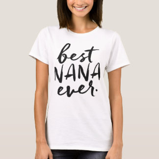Camiseta Mejor Nana manuscrita nunca