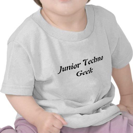 Camiseta menor del friki de Techno para la camiset