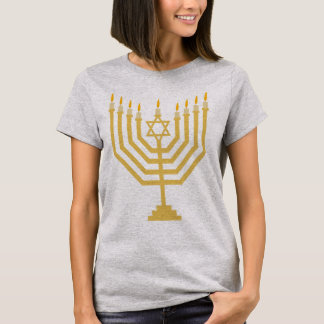 Camiseta Menorah