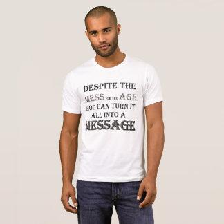 "Camiseta ""Mensaje"" por Michael Crozz"
