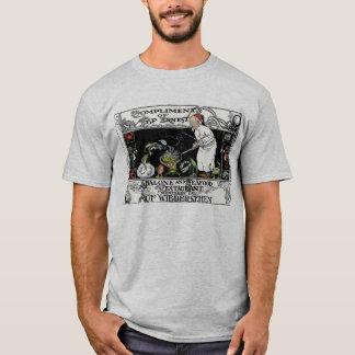 Camiseta Menú del restaurante del olmo y de los mariscos de