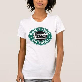 Camiseta menuda de las señoras del duende del