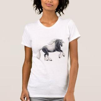 Camiseta menuda de las señoras gitanas de la