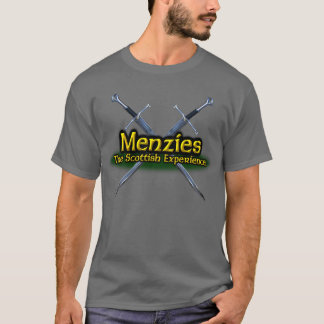 Camiseta Menzies el clan escocés de la experiencia