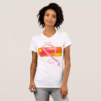 Camiseta Mes de la conciencia del cáncer de la bestia