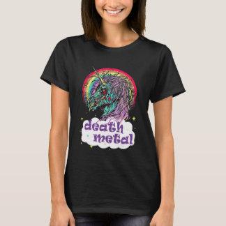 Camiseta Metal de la muerte del unicornio del zombi