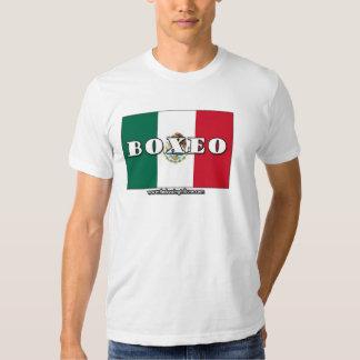 Camiseta mexicana del boxeo