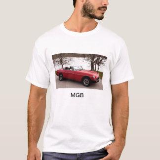 Camiseta MGB, coche de deportes, británicos, 1976, rojo