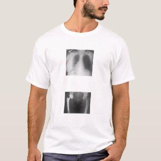 Camiseta Mi cadera apenas agrietada de tristeza