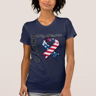 Camiseta Mi cinta patriótica conmemorativa del sobrino