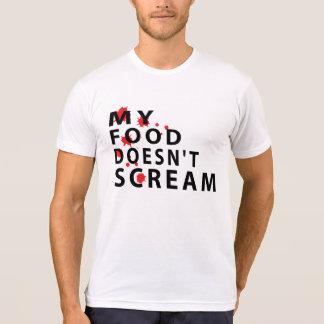 Camiseta Mi comida no grita