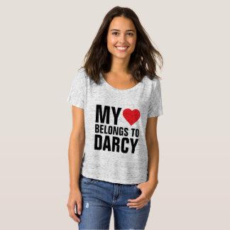 Camiseta Mi corazón pertenece a Darcy