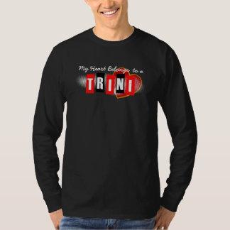 Camiseta Mi corazón pertenece a un Trini (o a su texto)