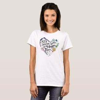 Camiseta Mi espacio de costura--Camisa de la luz de
