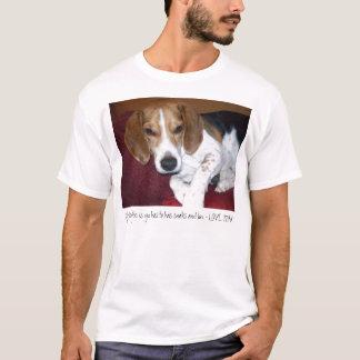 Camiseta Mi Filosofee es Yu tiene que tiene Snaks y Luv