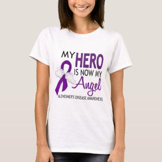 Camiseta Mi héroe es mi enfermedad de Alzheimer del ángel