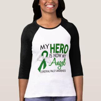 Camiseta Mi héroe es mi parálisis cerebral del ángel