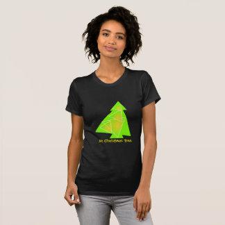 Camiseta Mi ilustracion del árbol de navidad de un árbol