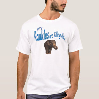 Camiseta ¡Mi Kankles me está matando!