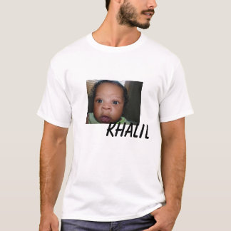 Camiseta Mi khalil del hijo