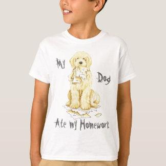 Camiseta Mi Komondor comió mi preparación