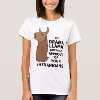 Camiseta Mi llama del drama no aprueba sus Shenanigans