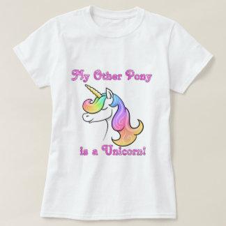 Camiseta Mi otro potro es un unicornio