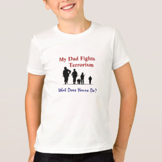 Camiseta Mi papá lucha terrorismo