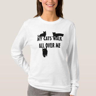 Camiseta Mi paseo de gatos por todo mí