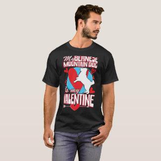 Camiseta Mi perro de montaña de Bernese es mi perro de la