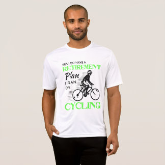 Camiseta Mi plan de retiro está completando un ciclo para