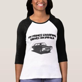 Camiseta Mi príncipe el encantar conduce un impala