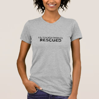 Camiseta Mi raza preferida es te RESCATADA