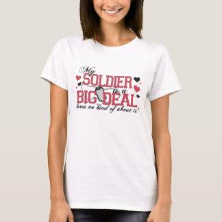 Camiseta Mi soldado es una gran cosa