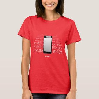 Camiseta Mi teléfono - todo en uno
