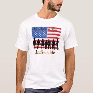 Camiseta Mi valor americano. Indivisible