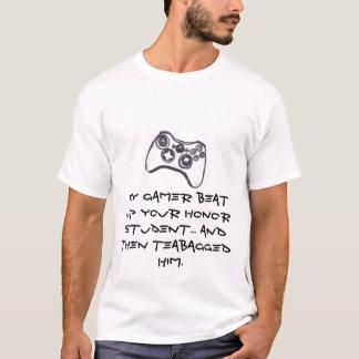 Camiseta Mi videojugador - M